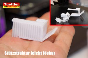 Filament-Test-sulu-petg-weiss-stuetzstruktur