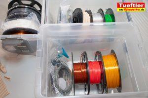 Filament-Test und Vergleich TPU PLA PETG ABS