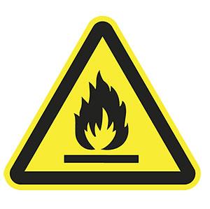 Warnung-Gefahr-Feuer