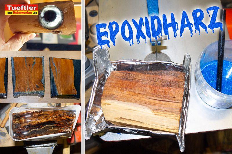 Häufig Trockenrisse im Holz - Epoxidharz hilft - Tueftler-und-Heimwerker DI52